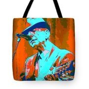 Abstract Of Leonard Cohen Tote Bag