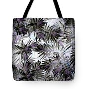 Abstract Of Low Growing Evergreen Shrub Tote Bag