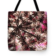 Abstract Of Low Growing Shrub  Tote Bag