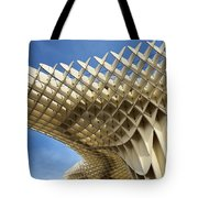 Abstract Of Metropol Parasol Pod At Plaza Of The Incarnation Sev Tote Bag