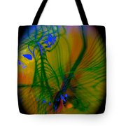 Abstract Of Music And Harmony Tote Bag