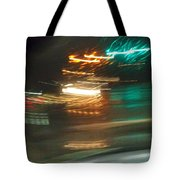 Abstract Of Racing Cars Tote Bag
