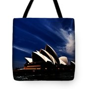 Abstract Of Sydney Opera House Tote Bag