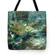 Abstract Of The Underwater World. Production By Nature Tote Bag