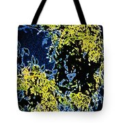 Abstract Of Tree And Leaves Tote Bag