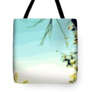 Abstract  Of Trees And Sky Tote Bag