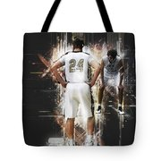 On The Line Tote Bag