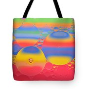 Abstract Oil And Water 7 Tote Bag