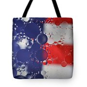 Abstract Oil And Water Usa 2 Tote Bag