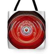 Abstract Old Car Framed Tote Bag