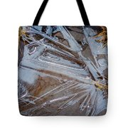 Abstract On The Rocks Tote Bag
