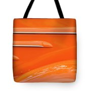 Abstract Orange '35 Tote Bag