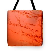 Abstract Orange Tote Bag