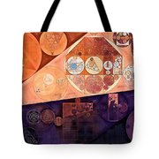 Abstract Painting - Blackberry Tote Bag