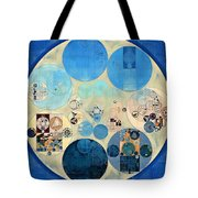 Abstract Painting - Curious Blue Tote Bag