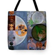 Abstract Painting - Dark Gray Tote Bag