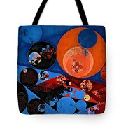 Abstract Painting - Dark Midnight Blue Tote Bag