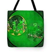 Abstract Painting - Deep Fir Tote Bag