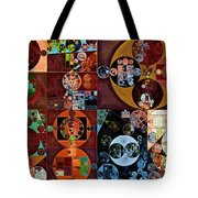Abstract Painting - Desert Tote Bag