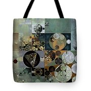Abstract Painting - Dove Grey Tote Bag