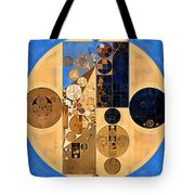 Abstract Painting - Earth Yellow Tote Bag