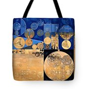 Abstract Painting - Fawn Tote Bag