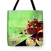Abstract Painting - Feijoa Tote Bag