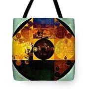 Abstract Painting - Gamboge Tote Bag