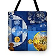 Abstract Painting - Havelock Blue Tote Bag