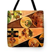 Abstract Painting - Light Brown Tote Bag