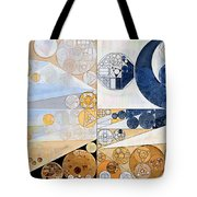 Abstract Painting - Light Gray Tote Bag