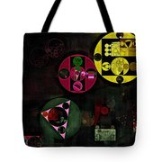 Abstract Painting - Metallic Gold Tote Bag
