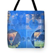 Abstract Painting - Mist Grey Tote Bag