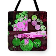 Abstract Painting - Pale Plum Tote Bag