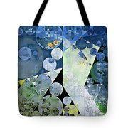 Abstract Painting - Paris White Tote Bag