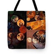 Abstract Painting - Persian Orange Tote Bag