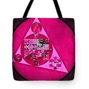 Abstract Painting - Persian Pink Tote Bag