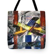 Abstract Painting Tote Bag by Robert Thalmeier
