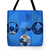 Abstract Painting - Sapphire Tote Bag