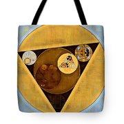 Abstract Painting - Satin Sheen Gold Tote Bag