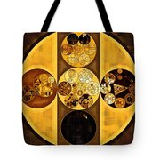 Abstract Painting - Sepia Tote Bag