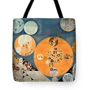 Abstract Painting - Shuttle Grey Tote Bag