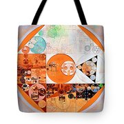 Abstract Painting - Silver Tote Bag