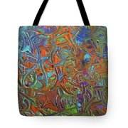 Abstract Pallet Oil Color Tote Bag