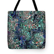 Abstract Pattern Of Colors Tote Bag