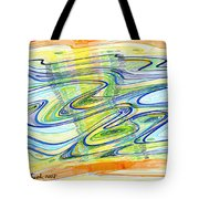 Abstract Pen Drawing Forty-one Tote Bag