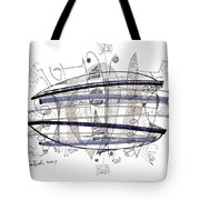Abstract Pen Drawing Thirty-four Tote Bag