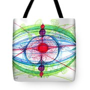 Abstract Pen Drawing Thirty-one Tote Bag