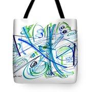 Abstract Pen Drawing Thirty-three Tote Bag