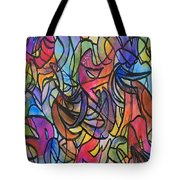 Abstract Pen Tote Bag